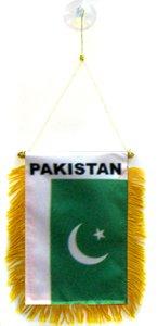 AZ FLAG Gagliardetto Pakistan 15x10cm con Ventosa -...
