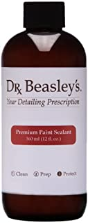 Dr. Beasley's Premium Detailing Paint Sealant - 12 oz. Long Lasting Polymer Protection, Creates a Deep Gloss for Painted Surfaces, Easy Application and Removal