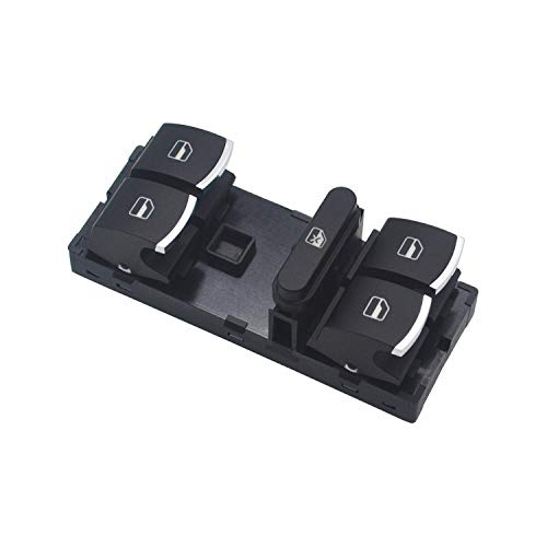 ZEALfix Interruptor Mando Elevalunas, Botonera de Ventana 5ND959857 Für Jetta Golf Polo Passat Caddy T Touran 5K4959857