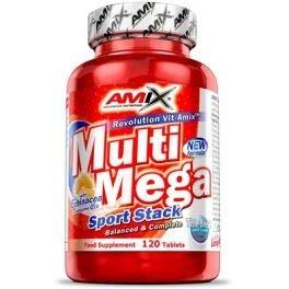 AMIX Multi Mega-Stack - 120 Capsulas