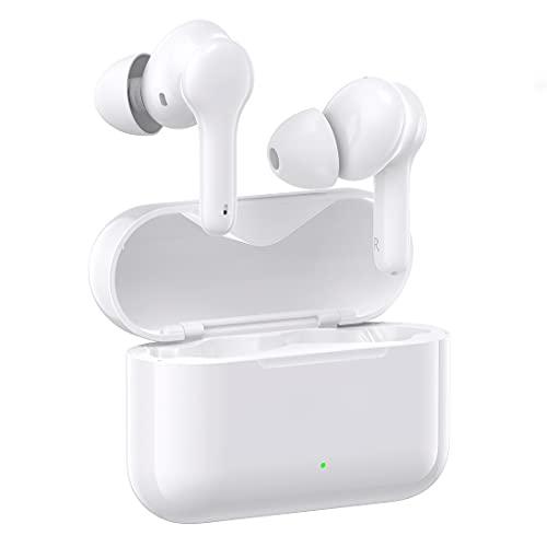 Cuffie Bluetooth, Auricolari Wireless in Ear Stereo, 30 Ore di Riproduzione con Custodia di Ricarica, Cuffie Bluetooth IPX5 con Microfono Integrato