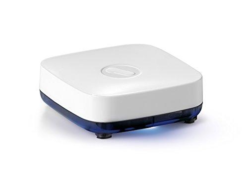 One For All SV1810, Receptor de música Bluetooth, Transmite música de manera inalámbrica, Plug & Play, blanco