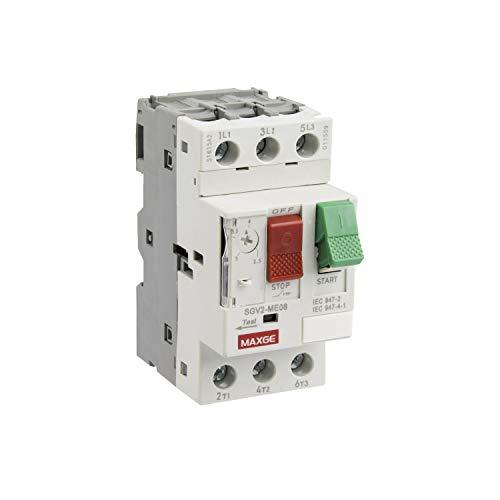 LEDKIA LIGHTING Interruptor Guardamotor Magnetotérmico MAXGE 3P 6-10 A3