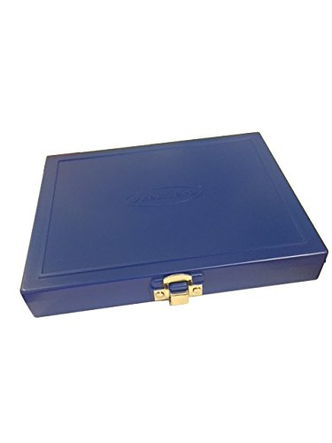 Premiere 100 Capacity ABS Plastic Microscope Slide Storage Box, Blue