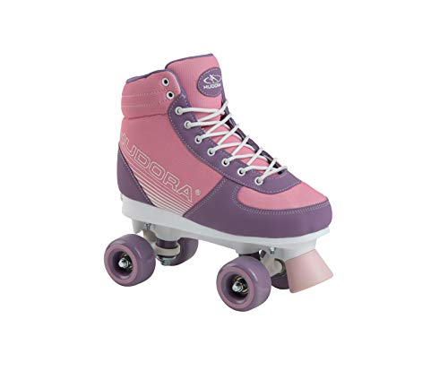 HUDORA Kinder & Jugendliche, Pink Roller Skates Advanced, Blush, Gr. 31-34