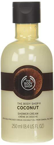 The Body Shop Coconut Bath Shower Cream unisex, Kokos Bade- und Duschcreme 250 ml, 1er Pack (1 x 250 ml)