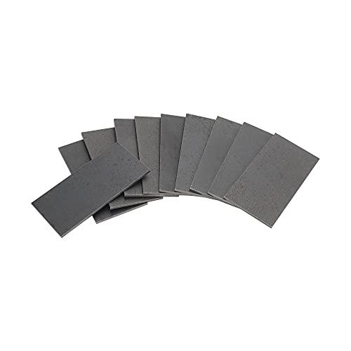 Welding Coupons, Welding Steel, 11 Gauge Mild Steel 2 by 4 Inch (2