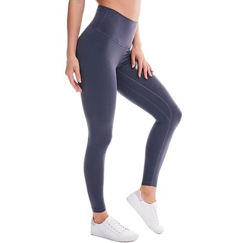 QTJY La Yoga de los Deportes de Las Mujeres jadea, Flexiones de la Aptitud del Gimnasio Que Funcionan con Las Polainas de la Cintura Alta, Pantalones Corrientes al Aire Libre por la mañana