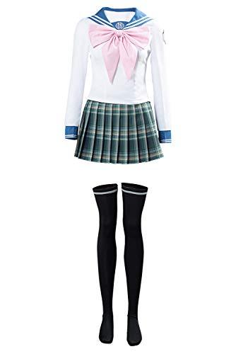 Gosbeliy Danganronpa Cosplay Sayaka Maizono Traje de marinero japons uniforme escolar para mujer