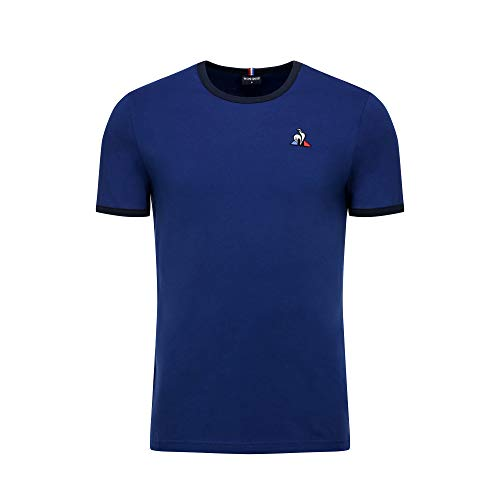 Le Coq Sportif ESS tee SS Bicolore N°1 M Camiseta Hombre