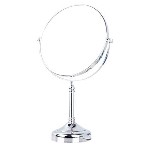 YIN YIN Miroir cosmétique, beauté Bureau Portable Miroir 3 Fois Ménage Loupe HD Miroir Double Face Miroir de Table (Color : B, Size : 20X35cm)