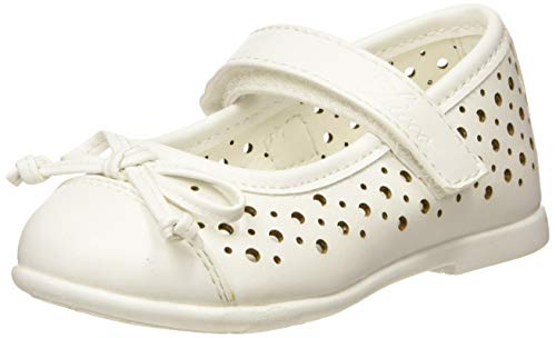 Chicco Bebe'/Ballerina Cleliana, Bambina, Bianco (Bianco/300 300), 20 EU