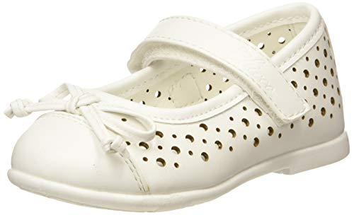 Chicco Bebe'/Ballerina Cleliana, Bambina, Bianco (Bianco/300 300), 22 EU