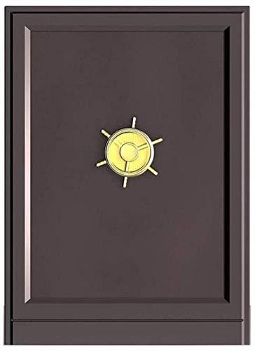 Operación de control remoto seguro Objetos de valor para el hogar Mini caja de seguridad Proteger joyas Caja fuerte para el hogar (tamaño: 60 * 38 * 42)