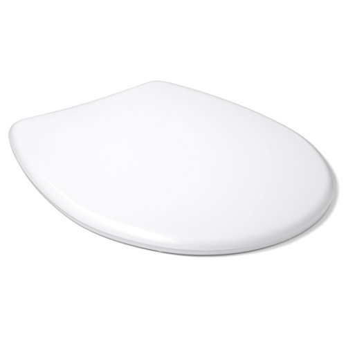 TATAY 4400501 - Standard Asiento con tapa Wc, Plástico Polipropileno, Blanco, 36.50X2.50X44.50 Cm