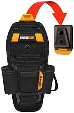 ToughBuilt - Technician 10 Pocket Pouch (Large) | 15 Pockets & Loops, 3 Adjustable Pockets, Long/Short Tools, Holster Accessories, Multi-Tool Organizer (ClipTech Hub & Belts) - (TB-CT-36-L10)