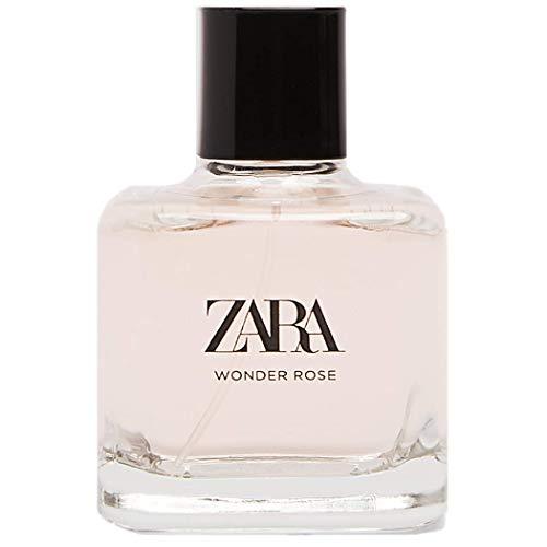 New ZARA WONDER ROSE EAU DE TOILETTE 100 ML for woman