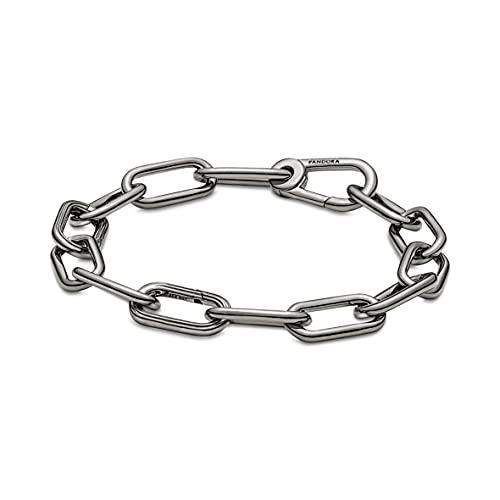 Pandora ME Link 549588C00-2 Bracelet en alliage de métal revêtu de Ruthénium compatible avec les bracelets Pandora ME 16,5 cm