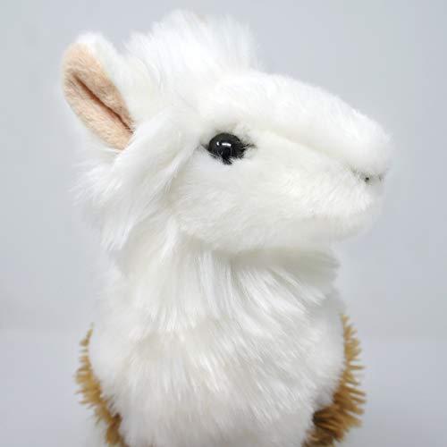Lea The Peruvian Llama - 11.5 Inch Large Stuffed Animal Plush Alpaca Lama - by Tiger Tale Toys