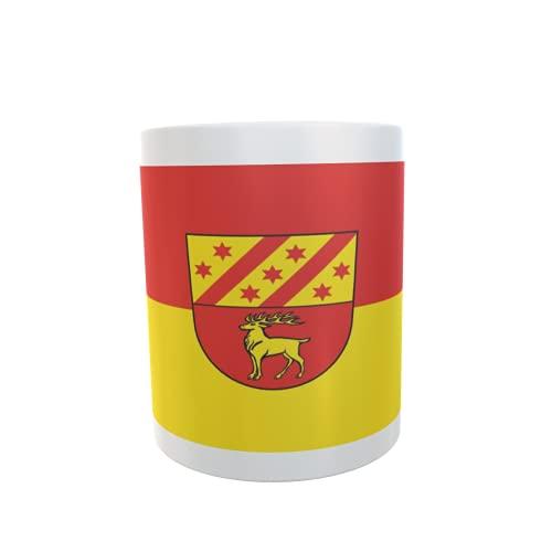 U24 Tasse Kaffeebecher Mug Cup Flagge Bingen (BW)