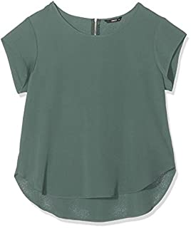 scheda only 15142784 t-shirt, verde (balsamo green balsam green), 50 donna