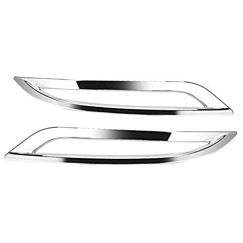 Broco ABS Auto Staart Achter Mist Lamp Frame Cover Trim Past voor Tesla Model 3 2018-2019