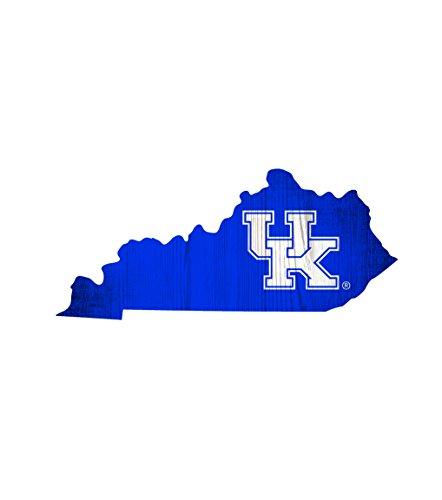 Fan Creations NCAA Kentucky Wildcats 12' X 5.5' Team Color Logo State