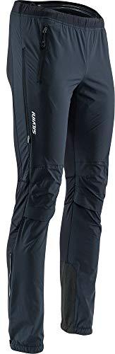 SILVINI Herren Soracte Skitourenhose mit Verstärktem Flicken Auf der Innenseite des Knöchel Schwarz - XL