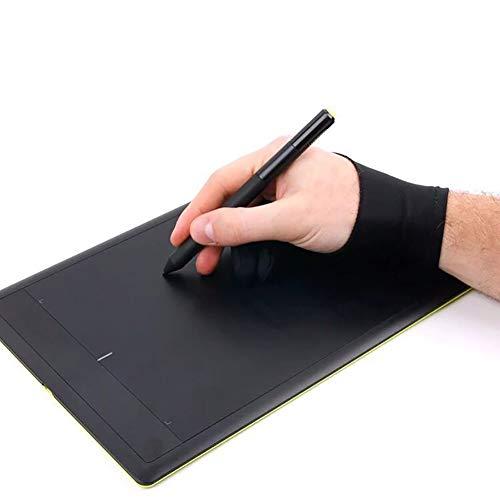 Greyghost 2-Vinger Schilderij Handschoenen Digitale Tablet Schrijven Tekening Handschoenen Anti-Ontbrekende Speciale Handschoenen voor het beschermen van Handen S