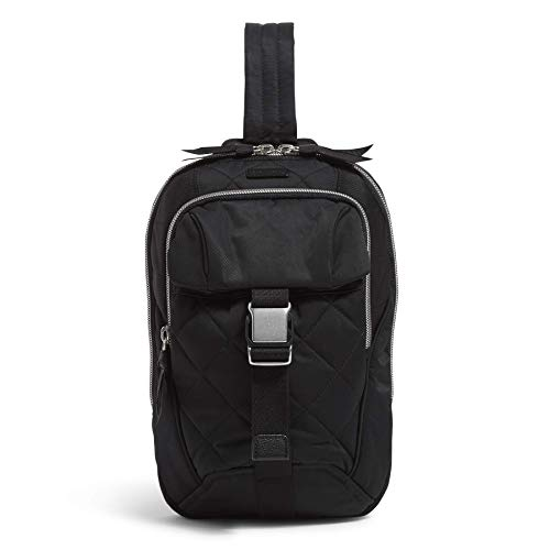 Vera Bradley Performance Twill Utility Sling Backpack, Black