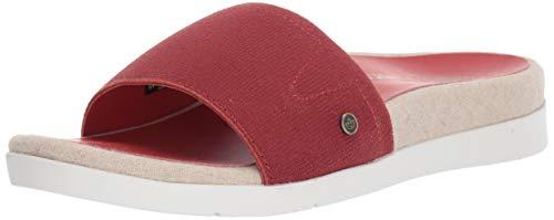Spenco Women's Sunset Slide Sandal, Burnt Brick, 9 Medium US