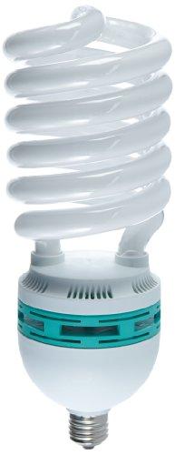 Walimex pro Spiral-Tageslichtlampe 125 W - Daylight Spirallampe Fotolampe Energiesparlampe, E27 Fassung, 5500K Tageslicht, 125W entspricht 625W Glühbirne, für Softbox und Reflektor