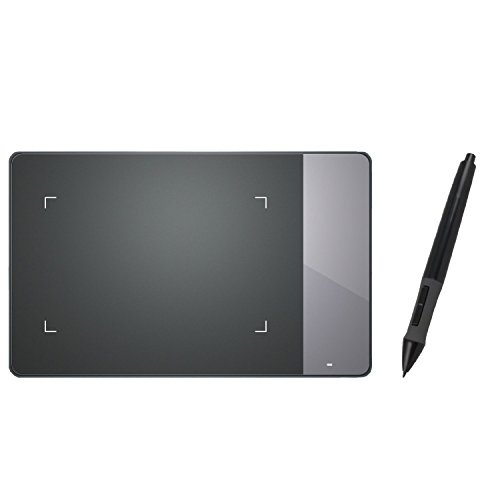 HUION  4X2.23 Inches USB Art Design Graphics Drawing Tablet Digital Pen Signature Pad Board with Kenting Cleaning Cloth H420