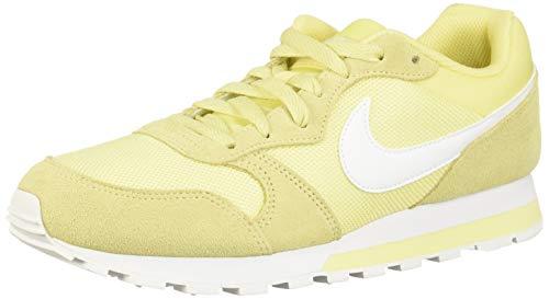 Nike Damen Women's Md Runner 2 Shoe Traillaufschuhe, Mehrfarbig (Bicycle Yellow/White/Bicycle Yellow 700), 40 EU