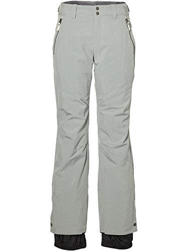 O'Neill Damen Snowboard Hose Streamlined Pants, Silver Melee, L
