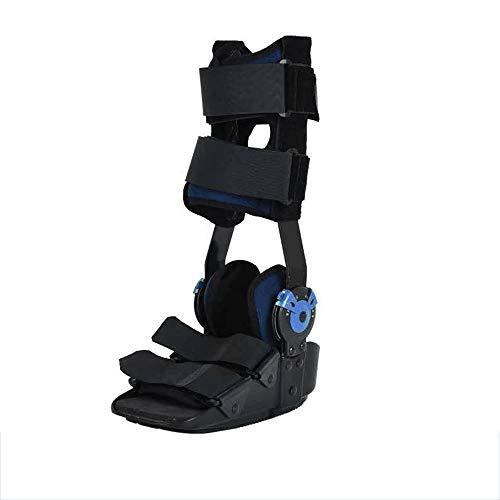 PHASFBJ Férula de Tobillo Pie, Tobilleras Esguince Botas Ortopedicas Soporte y Protectoras para Fracturas Post Ligamento y Cirugía de Tendón Esguinces de Tobillo y Reparaciones de Aquiles