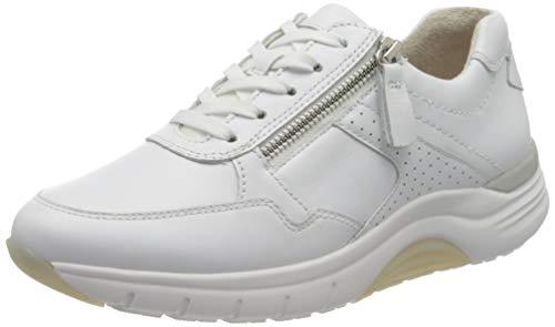 Gabor Shoes Damen Rollingsoft Sneaker, Weiß (Weiss 50), 39 EU