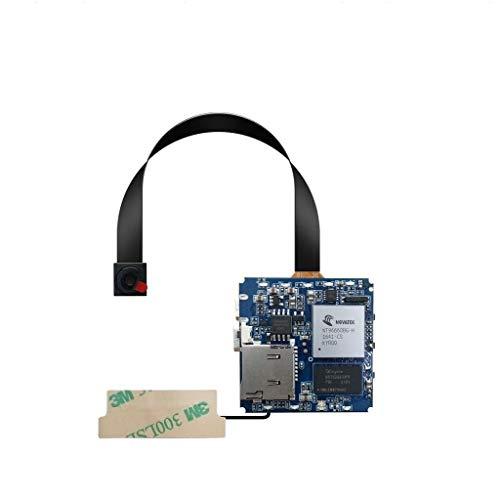 Cámara espía oculta WiFi 4K Cámara de seguridad Full HD Mini 1080P con grabadora de audio de detección de movimiento (4K pcba (incluye 800 mAh)