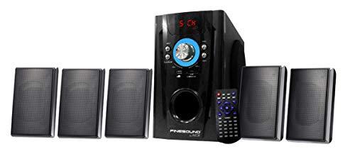 Home CINÉMA 5.1 AUX + USB + sans Fil + SD + FM 240 Watts PMPO