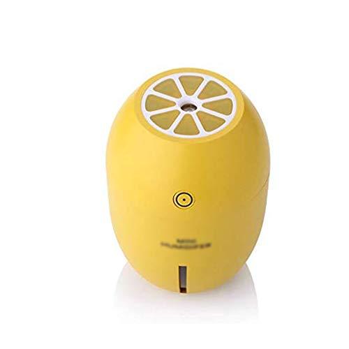DYXYH Humidificador, Purificador de aire, Aire Fresco Limón Luz de la Noche Humidificadores de Aire Mini Colorido de la Luz de la Noche del Hogar Filtro de Aire del Coche Purificador de Aire