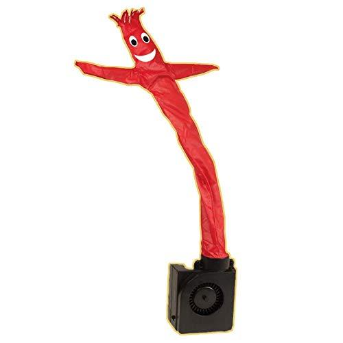 Vinyl-It Wacky Waving Inflatable Tube GuyFigurine - Mini Figure - Miniature - Red