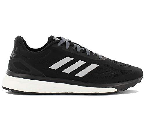 adidas Damen Response LT W Laufschuhe, Black (Negbas/Plamet/Ftwbla), 39 1/3 EU
