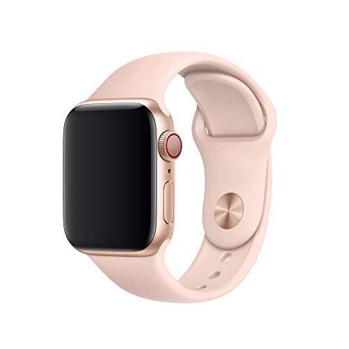 Apple Watch (40mm) Sportarmband, sandrosa - S/M und M/L