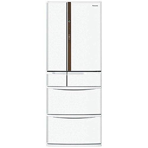 パナソニック 451L トップユニット冷蔵庫 6ドア フレンチドア クラフトホワイト NR-FVF452-W