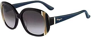 Salvatore Ferragamo SF 674S Col 001, Size 55-17-135 Women Sunglasses