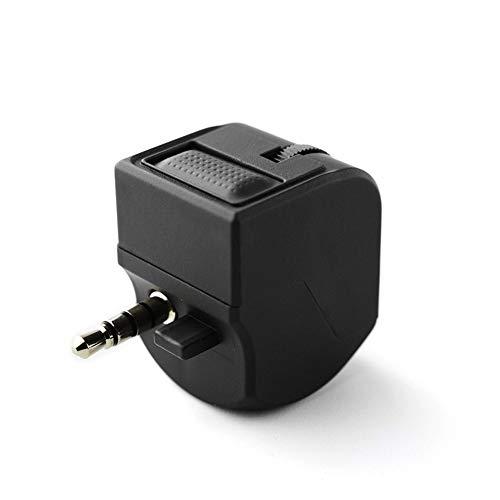 QiKun-Home Ps4 Vr Handset Headset Adapter Lautstärkeregelung Chat und Spiel klingt schwarz