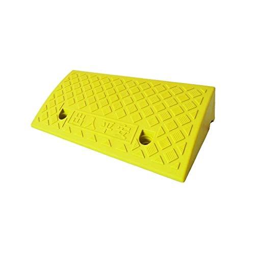 5-13CM Servicio rampas de Pendiente Amarillo Brillante de plástico Comunidad de la Escuela del cojín de umbral rampas for discapacitados en Silla de Ruedas rampas