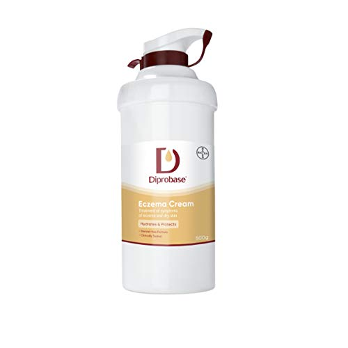 Diprobase Eczema Cream 500 g for Treatment of Eczema Symptoms and Dry Skin