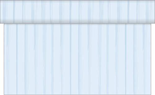Vlag HORECA tafelloper strepen | van Linclass® Airlaid 40 cm x 24 m | tafelband tafelkleed geperforeerd | op stof gelijkend eenmalig tafelkleed | 1 stuk