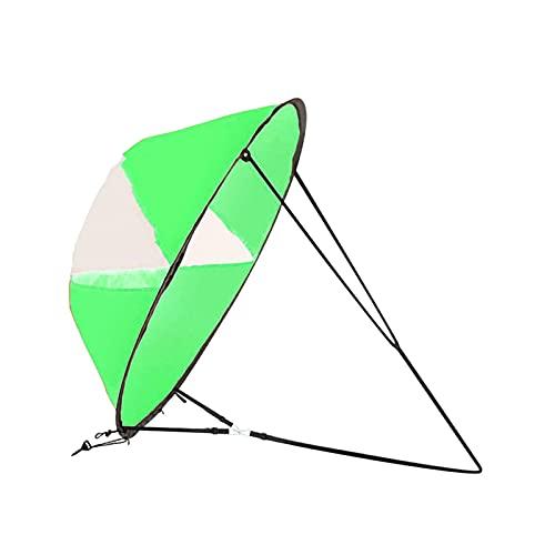 JJSCHMRC Kayak vela de viento plegable portátil paleta de viento accesorio de...
